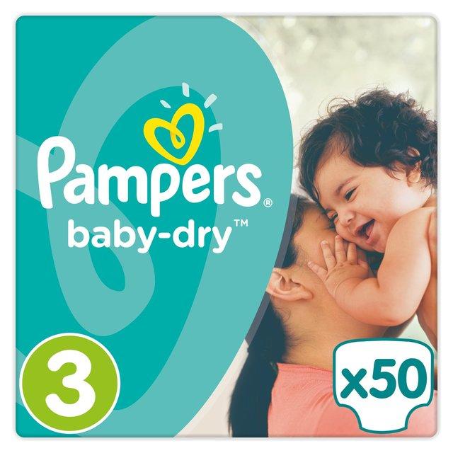 Pampers nappies £8 BOGOF £8 @ Ocado