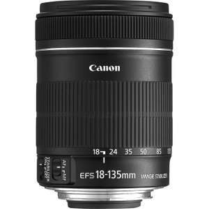 Canon EF-S 18-135mm f3.5-5.6 IS Lens £269 Delivered @ Canon Store