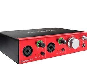Focusrite Clarett 2pre Thunderbolt Audio Interface £264 @ BOPDJ