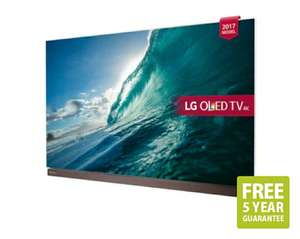 "LG OLED77G7V 77"" 4K HDR Ultra HD Smart OLED TV, Foldable Soundbar £7999 @ SonicDirect"