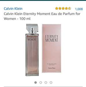 Calvin Klein Eternity Moment Eau de Parfum for Women - 100 ml £22.99 at Amazon (price matched with very)
