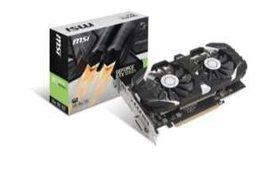 MSI Gtx 1050ti 4gb Graphics Card £119.99 @ Ebuyer