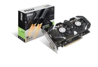 MSI Gtx 1050ti 4gb Graphics Card £119.99 @ Ebuyer