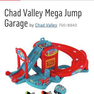 Chad Valley toy garage £9.99 half price Argos free click and collect
