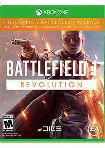 Xbox One / PS4 Battlefield 1 Revolution £24.85 @ Base