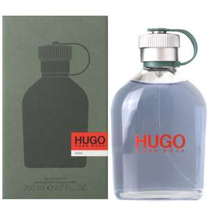 Hugo Boss Eau de Toilette 200 ml £35.50 delivered @ Amazon