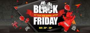 Black Friday gaming laptop deals @MSI