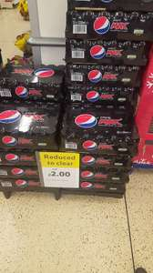 24 x Pepsi Max @ Tesco In-store (Teddington)