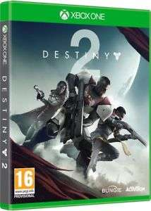 Destiny 2 Xbox One. Like new condition - Boomerang Rentals @ ebay - £20.99