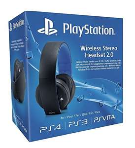 [Amazon] Sony PlayStation Wireless Stereo Headset 2.0 - Black (PS4/PS3/PS Vita) £52.98 (Non-prime delivered)
