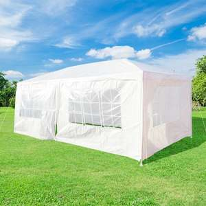 Gazebo Party Tent - 6 x 3mtr (Fully Closed) £41.79 @ Euro Car Parts