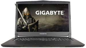 "Gigabyte P57W V7-CF1 - i7 7700HQ - 16gb DDR4 RAM - GTX 1060 6gb - 256gb SSD + 1TB HHD - 17.3"" 1080p IPS Screen - DVD Writer. @Save On Laptops"