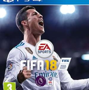 Fifa 18 PS4 version £39.85 with free delivery @ Base