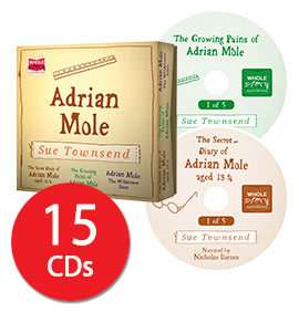 Adrian Mole Audio Book Collection (15 CD) £14.39 delivered with code @ the book people