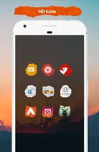 Icon Pack - Paper Best Icon Pack 2017 @ Google Play Store *FREE (was £1.29)*