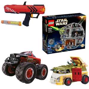 Smyths Toys Black Friday offers - Lego Death star £299.99 OR £287.99 w/code if C&C / Turtles Party Van now £17.49 ​/ ​3 for 2 on board games​ - £6 off £50+ C&C spend / £12 off £100+ C&C spend [More in OP]