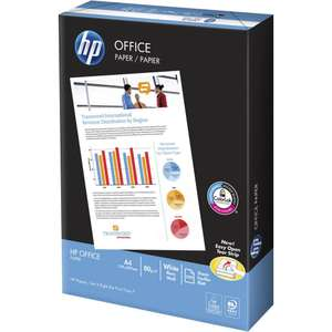 Bulk Buy Value HP A4 Paper 80 gsm 500 sheets + 6% Quidco Cashback - £2.50 @ Staples