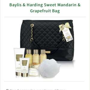 Baylis & Harding Sweet Mandarin & Grapefruit Bag £8 @ Lloyds