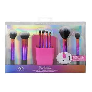 Real technique set add to basket too get it down to £30.00 full price is 65.00 @ Superdrug