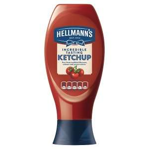 Hellmann's Incredible Tasting Tomato Ketchup 800g £1 @ Iceland