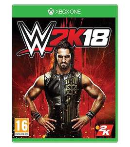 WWE W2K18 XBOX ONE & PS4 Instore at Sainsbury's for £29.99