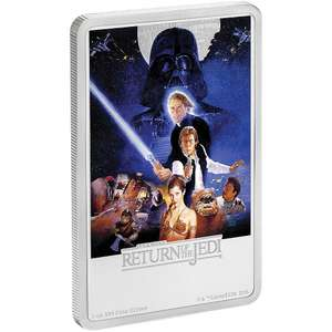 Star Wars: Return of the Jedi 1oz Silver Coin 10% off for the next 48 hours £74.40 @ NZMint