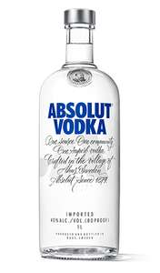 Absolute Vodka 70cl - Variety of Flavours from £13.50 (+£4.75 non-prime) @ Amazon
