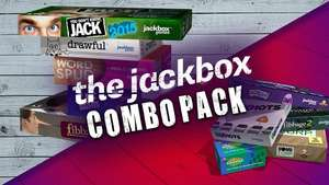 The Jackbox Party Pack 1 & 2 (The Jackbox Combo Pack) (PC Steam) £17.09 (£15.38 with code BLACKFRIDAY10) @ Fanatical