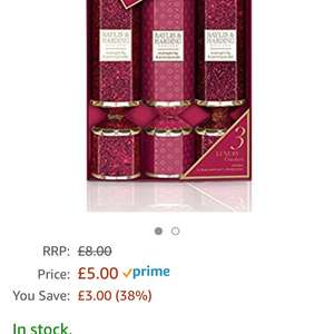 Baylis & Harding Gift Crackers, Midnight Fig and Pomegranate £5 (Prime) / £8.99 (non Prime) at Amazon