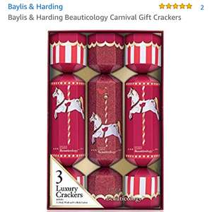 Baylis and Harding carnival gift crackers £4.50 Prime / £8.49 Non Prime @ Amazon