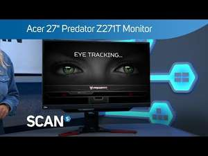 "Acer 27"" Predator Z271T Curved 144Hz G-SYNC Monitor £299.99 @ Scan"