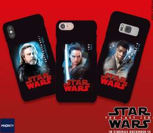 FREE Star Wars The Last Of The Jedi Phone Case on O2 Priority