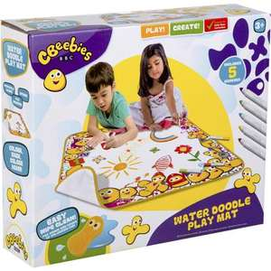 CBeebies Water Doodle Play Mat £5 each & in 3 for 2 Mix & Match instore / online @ Hobbycraft (+