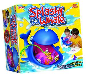 """John Adams """"Splashy The Whale"""" Game (Multi-Colour) £10 at Amazon if you have prime or from The Entertainer Toys for £13.99 delivered if you don't"""