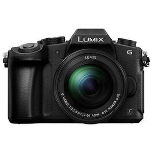Panasonic Lumix G80 Camera w/12-60mm lens, £699.95 with code + £100 cashback @ John Lewis