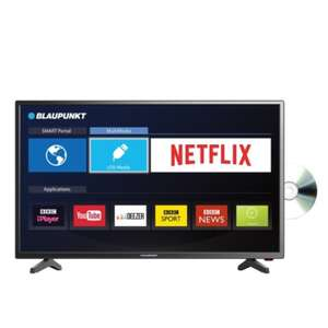 "Blaupunkt 32"" Full HD LED Smart TV with Built in DVD Player - £199 @ B&M"