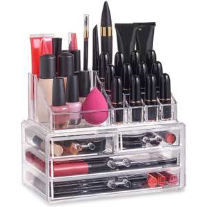 Beautify Makeup Organiser With 4 Drawers was £29.99 now £12.99 Del @ Domu (3 Drawer version £11.99)