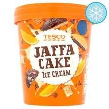 Tesco Jaffa Cake Ice Cream 480Ml less than half price 85p online @ Tesco from tomorrow