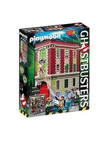 Playmobil ghostbusters firehouse - £47.99 @ Very and Amazon (link is in text)