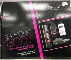 Tresemmé 24 hour body gift set @ Bodycare
