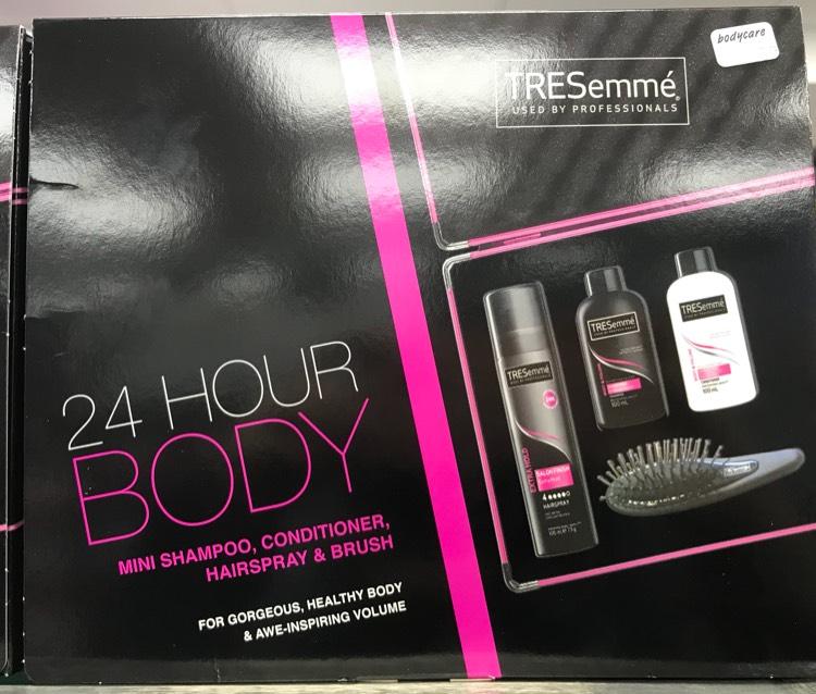 Tresemmé 24 hour body gift set @ Bodycare