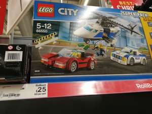 Asda - Lego city police super pack 3 in 1 - £25 instore
