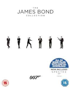 The James Bond Collection 1-24 Blu Ray @ Zavvi - £41.39 (Add to cart)