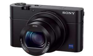 Sony Cyber‑Shot DSC‑RX100 III with 1yr Extended Warranty (2yrs in total) & £75 Cashback (to claim via Sony) - £474 @ CameraWorld