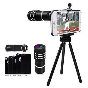 Evershop iPhone Zoom Lens £19.98 Prime (£23.97 None Prime) @ Amazon Sold by Evershop2 and Fulfilled by Amazon