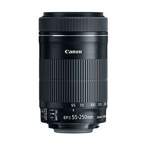 Canon 55-250 mm / F 4.0-5.6 EF-S IS STM 55 mm-Lens - £190.97 @ Amazon