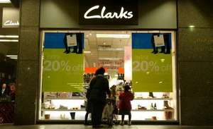 20% Off All Adults Styles and Accessories + 20% Off Children's Slippers w/code + Free C+C @ Clarks