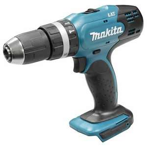 Makita DHP453Z Makita 18v Li-ion Hammer Drill Driver - Body Only £29.99 @ ITS online