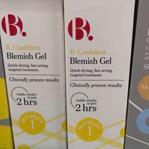 B confident blemish gel 70p buy on get one free superdrug