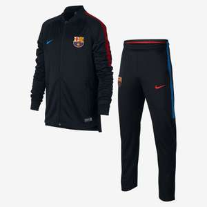 Nike FC BARCELONA DRY SQUAD tracksuit - 30% off - £58.97 at Nike